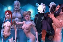 Nouveaux jeux de sexe animées 3D porno de bande dessinée