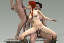 Les meilleurs jeux de sexe animé avec dessin animé 3D baise