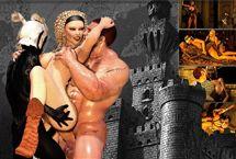 Jeux de sexe MMORPG avec pornoelfe et la princesse baise