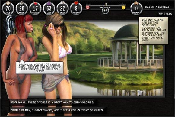 Lesbian fashion Jeux porno