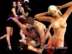 Lesson of Passion jeux de sexe en flash