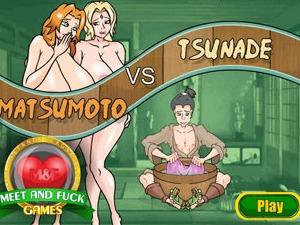 Matsumoto vs Tsunade bande dessinée japonaise sexe