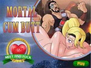 Mortal Cum Butt Mortal Kombat jeux sexe