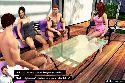Gangbang sexe partie avec jeune couple talking