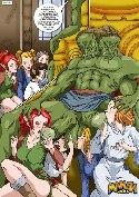 Sexe monstre vert