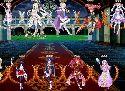 Baise hentai jeux de cartes avec des guerriers de manga et elf